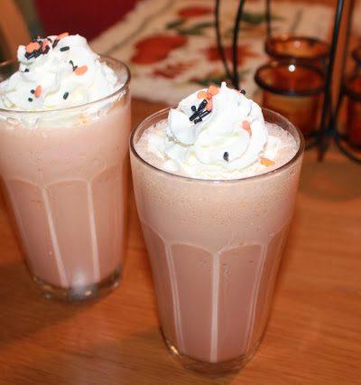 Easy Halloween Milkshakes