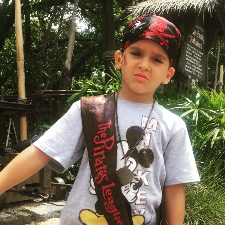 A Pirate Makeover at The Pirates League Disney World Tips and Review