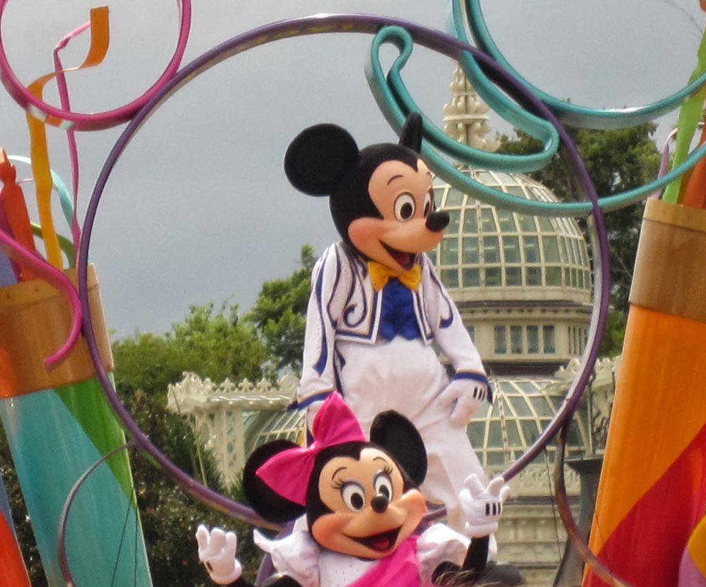 Disney Parade main street usa