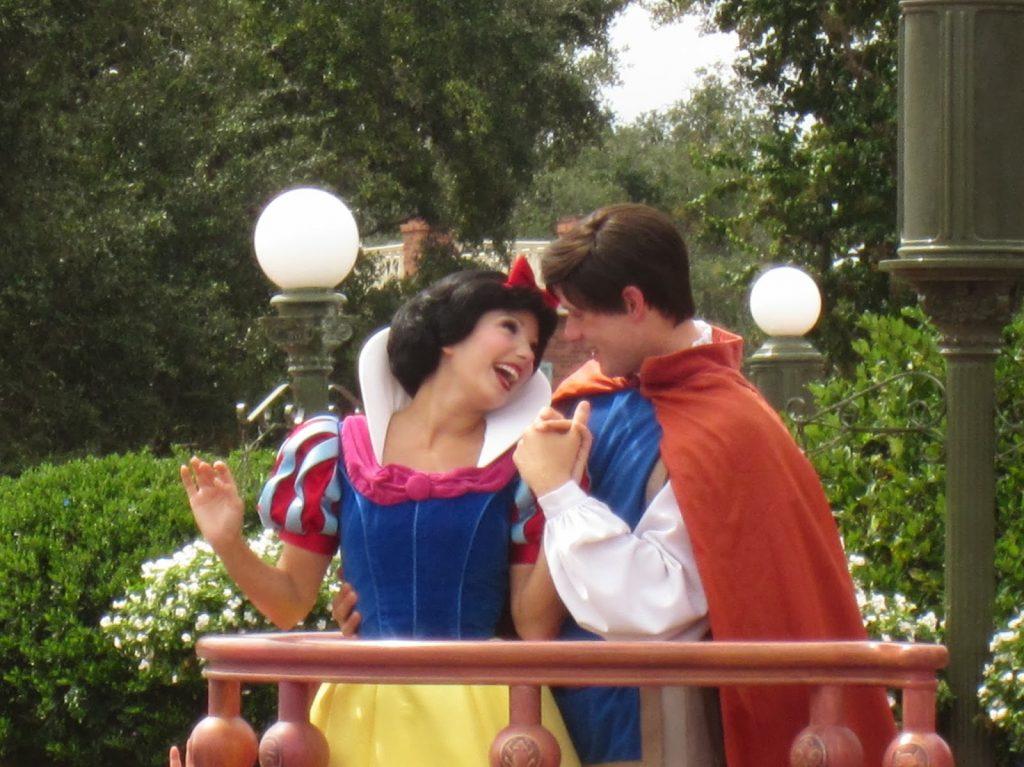 Snow white at magic kingdom