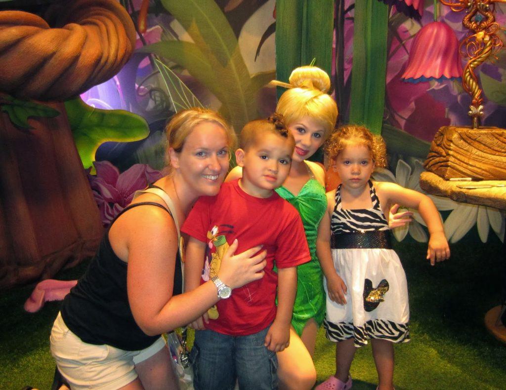 Tinkerbell at magic kingdom