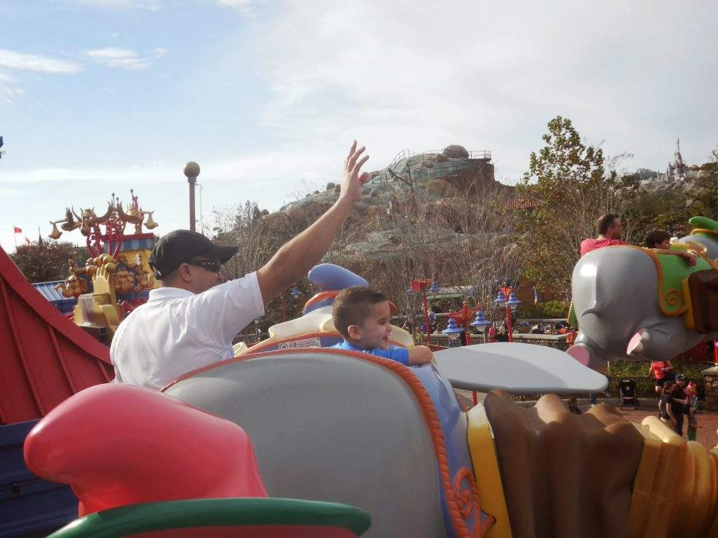 Rides at Disney Magic Kingdom
