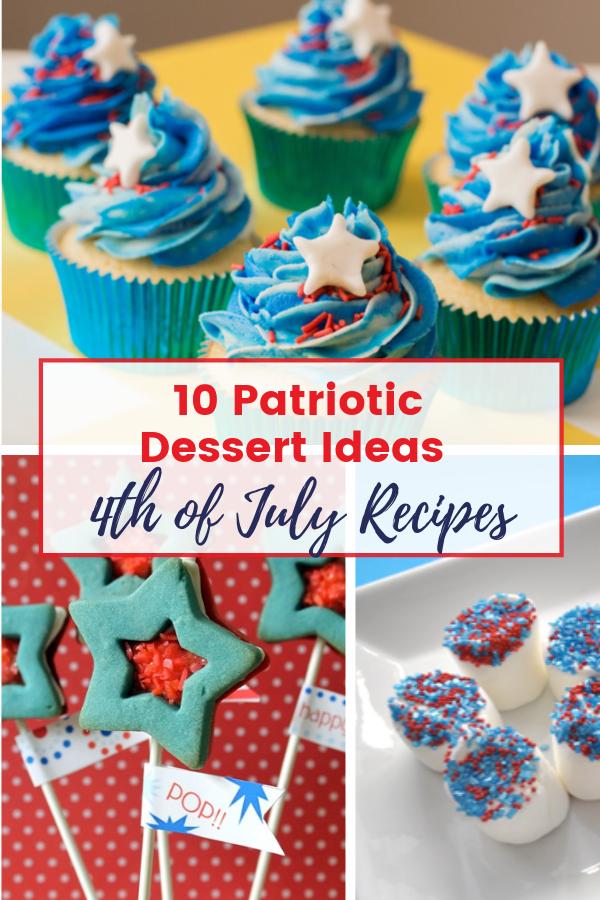 Patriotic Dessert Ideas