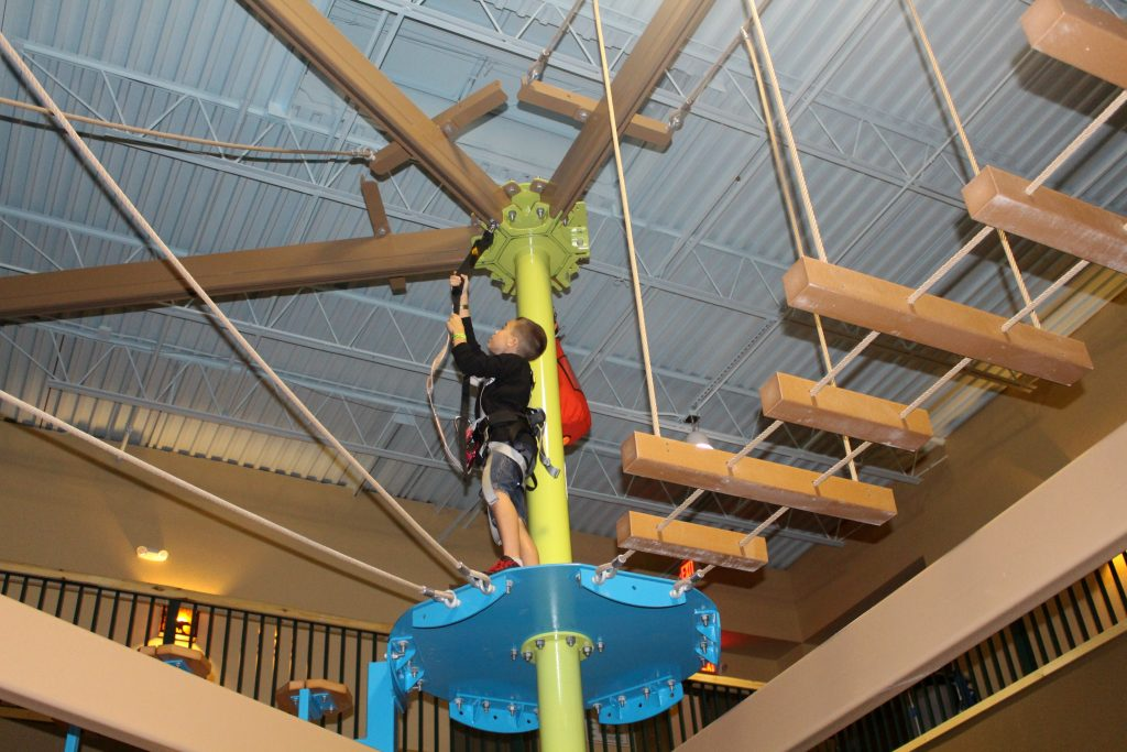 Great Wolf Lodge Attractions Rope Course