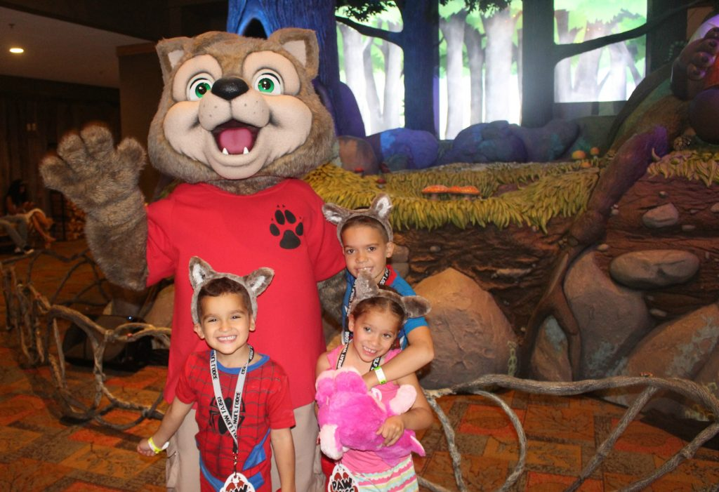 Great Wolf Lodge Character Meet and Greet