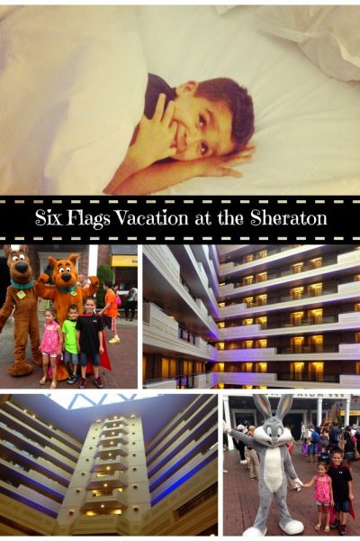 Family Travel Fun at the Sheraton Springfield and Six Flags New England