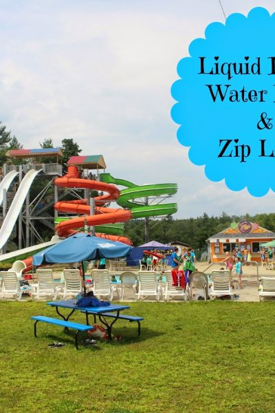 Liquid Planet Water Park and Zip Lines ~ Candia New Hampshire