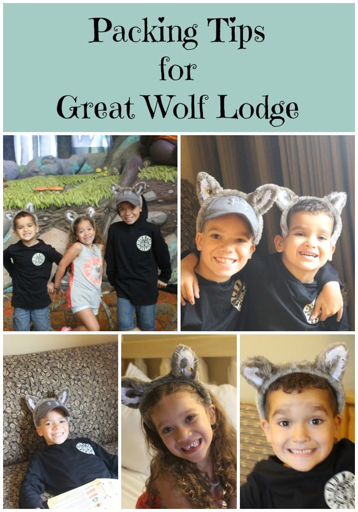 Packing Tips for Great Wolf Lodge