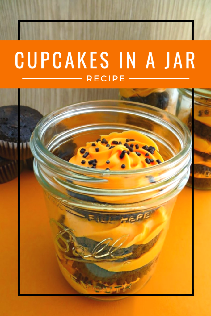 Cupcakes in a Jar Recipe Halloween