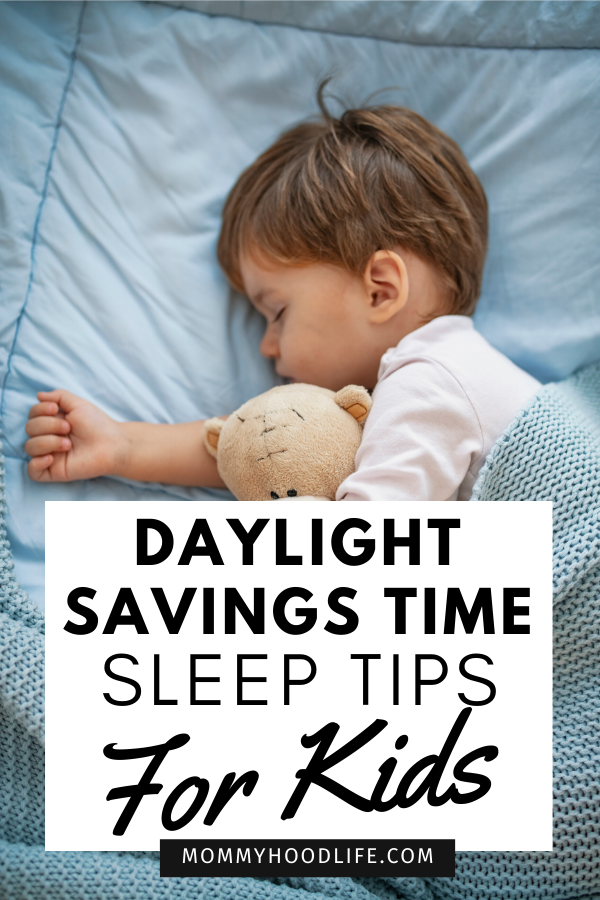 Daylight Savings Time Sleep Tips for Kids
