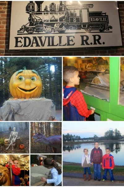 Edaville Pumpkins Aglow ~ Halloween Fun for the Kids!