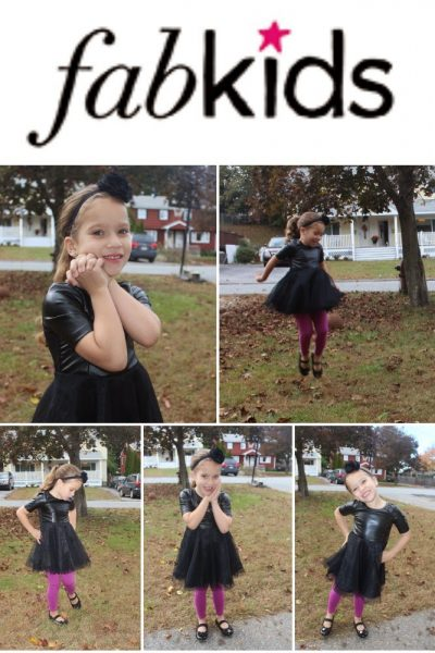 Lilly's Fabkids October Outfit!  We have a New Subscription Addiction, Fabkids for the little Fashionista ~ Review