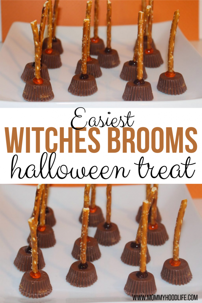 Easy halloween Witches Broom Treats