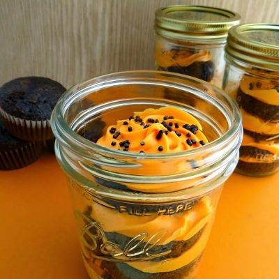 Halloween Dessert Cupcakes Recipe