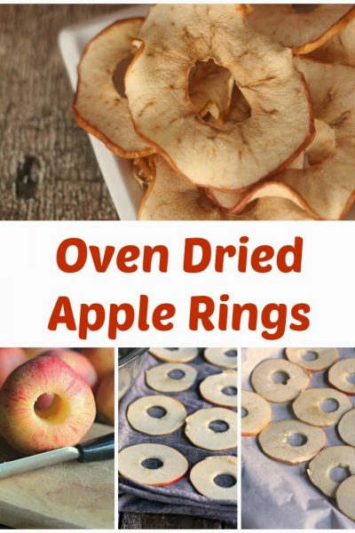 Oven Dried Apple Rings Recipe