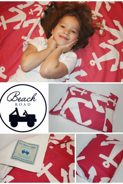 Beach Road Designs Beach Sheet Review and Giveaway ~ Holiday Gift Guide
