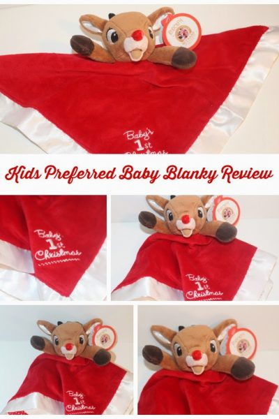Kids Preferred Baby's First Christmas Blanky ~ Holiday Gift Guide