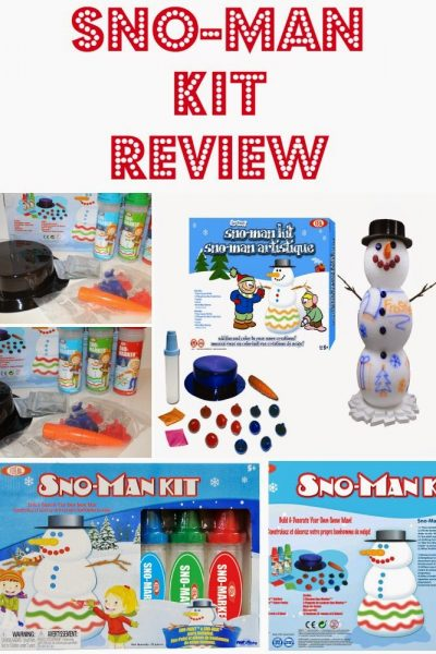 IDEAL Sno-Man Kit by Alex Brand Review and Coupon Code ~ Holiday Gift Guide
