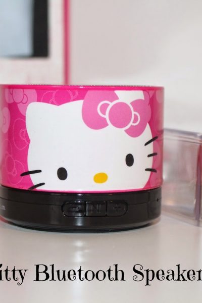 Hello Kitty Bluetooth Speaker Review ~ Holiday Gift Guide