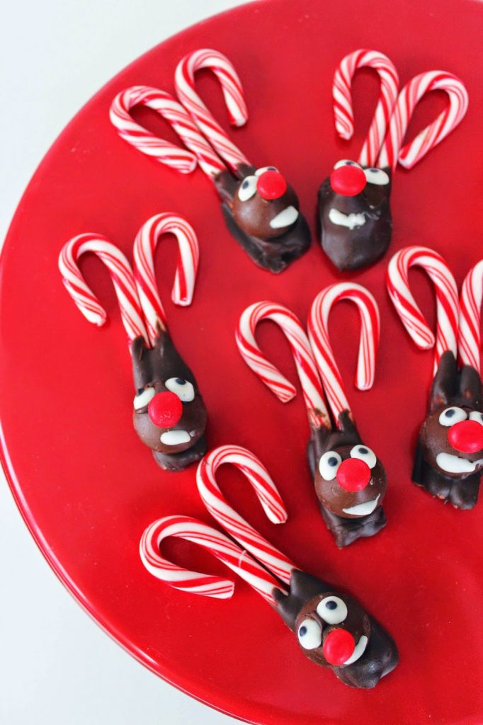 Candy Cane Reindeer Christmas Recipe