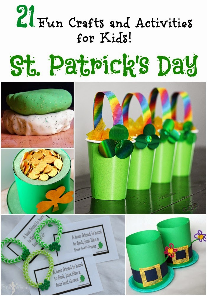 21 Fun St. Patrick's Day Crafts and Activities for Kids!