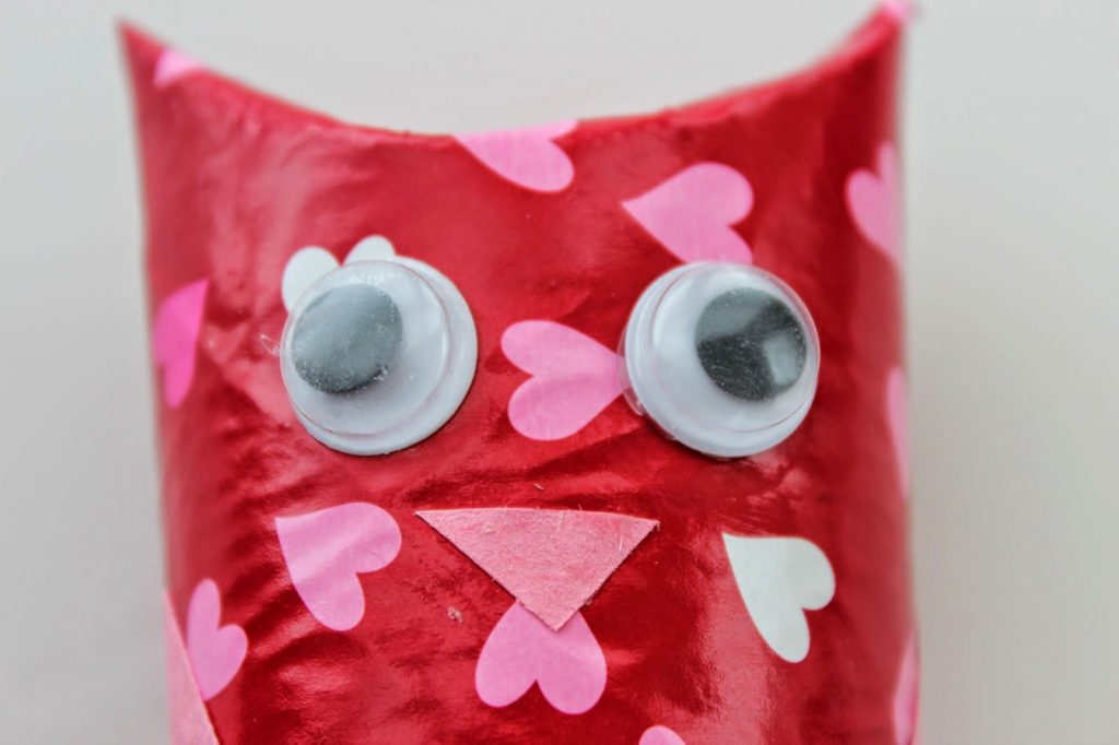 Face of Valentine's Day Owl Craft