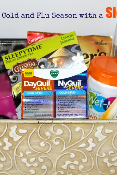 Get ready for Cold and Flu Season with a Sick Basket! #ReliefIsHere