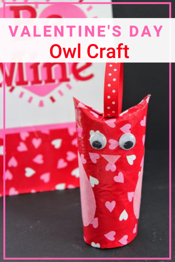 Toilet Paper Roll Owl Valentine S Day Craft For Kids