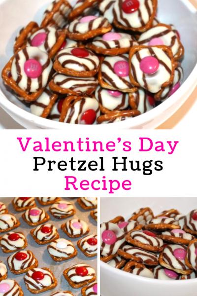 Valentine's Day Pretzel Hugs Recipe