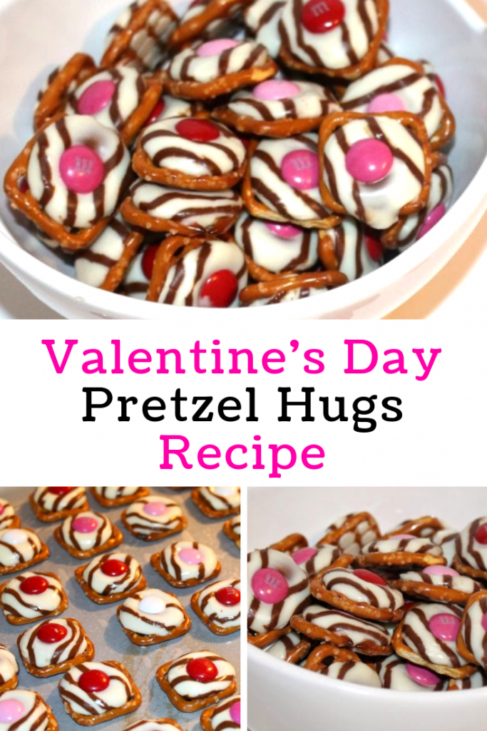 Valentine's Day Pretzel Hugs Recipe
