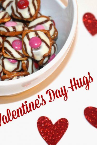 Sweet and Salty Valentine's Day Pretzel Hugs Recipe