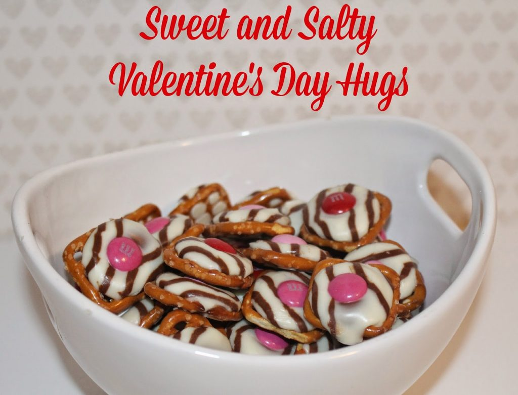 Sweet and Salty Pretzel Hugs