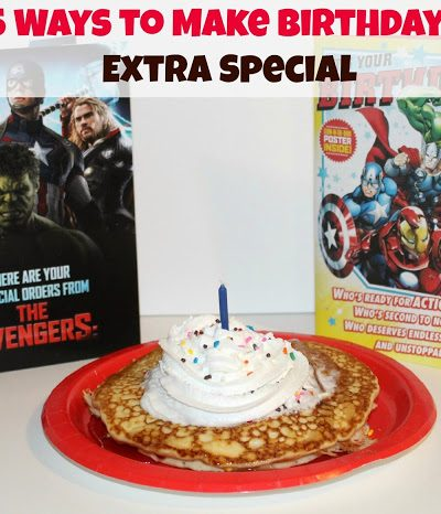 5 Ways I Make My Kids Birthdays Extra Special with the New ©2015 MARVEL Avengers Cards from Hallmark!