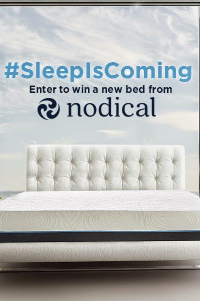 5 Tips to Help You Get a Great Night Sleep and a Luxurious Memory Foam Mattress by Nodical Giveaway! #NodicalBed #SleepisComing