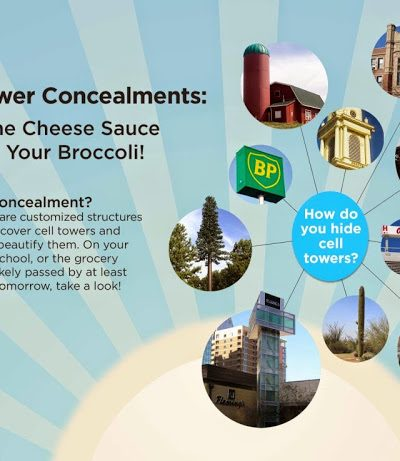 Stealth Concealment ~ Hiding those Ugly Cell Phone Towers!
