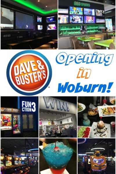Dave and Buster's is Opening in Woburn!