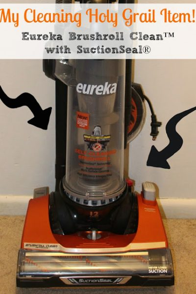 My Cleaning Schedule Tips & Eureka Brushroll Clean™ with SuctionSeal® Giveaway
