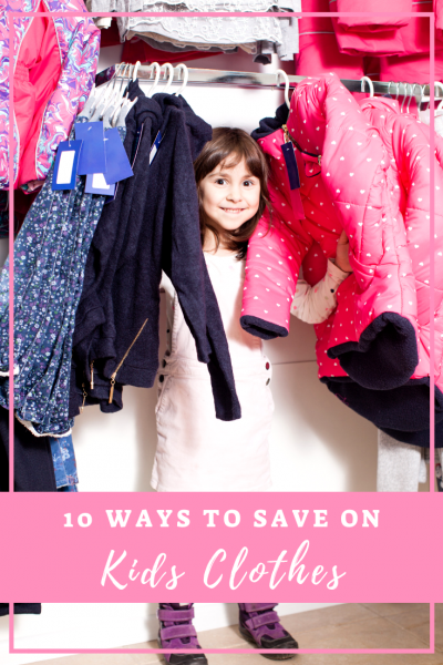 Ways to Save on Kids Clothes
