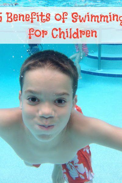 5 Benefits of Swimming for Children! #FunnestSport