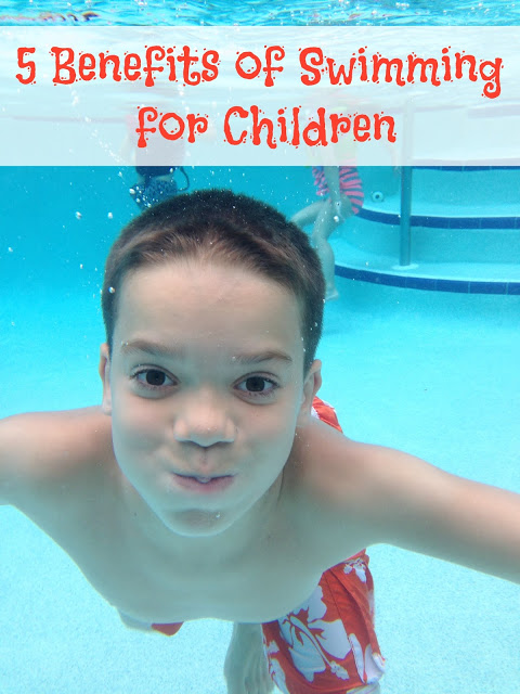 Benefits of Swimming for Children to learn