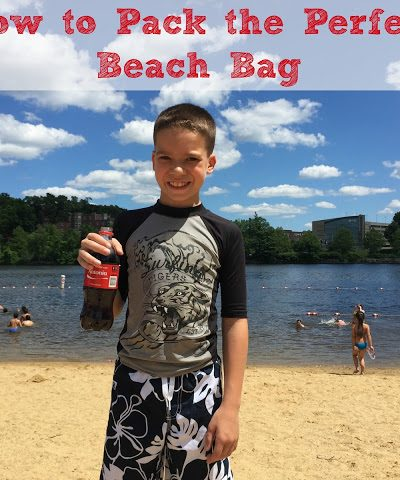 How to Pack the Perfect Beach or Pool Bag with a Free Printable Checklist!  #CokeHappyHour