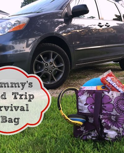 "How to pack the perfect ""Mommy's Road Trip Survival Bag"""