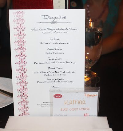 Hood Cream Immersion Dinner at Deuxave with Christopher Coombs #CookWithHood