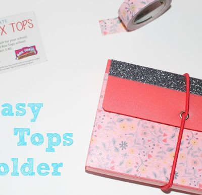 My Favorite Back to School Quick Breakfast Items + Easy DIY Box Tops Holder! #BTFE