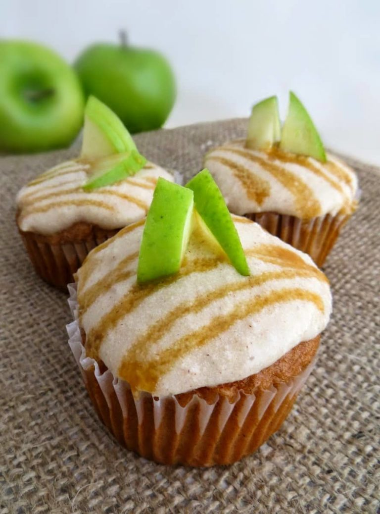 Simple and Delicious Caramel Apple Cupcakes Recipe