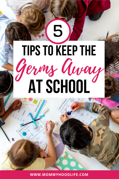keep the germs away at school
