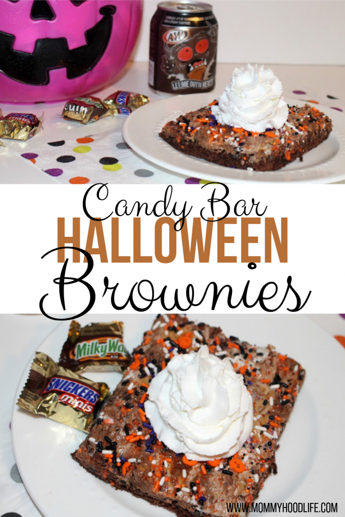 Candy Halloween Brownies Recipe