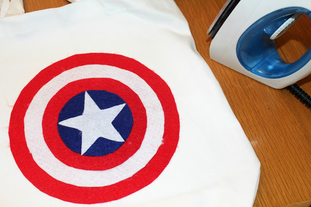 DIY Avengers Party Bags