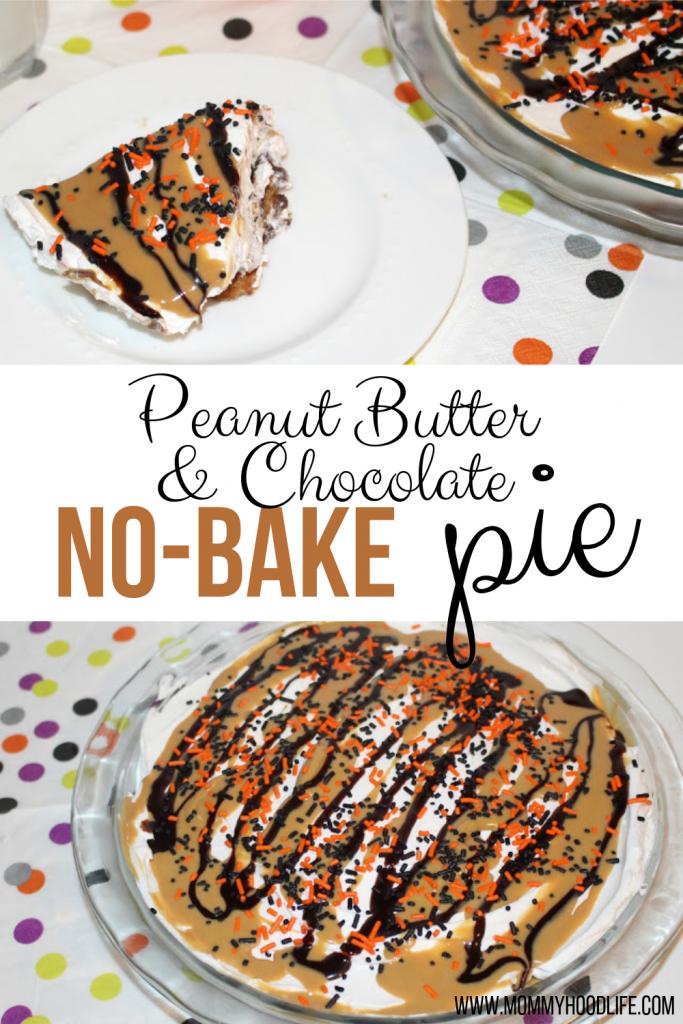 Peanut Butter No-Bake Pie