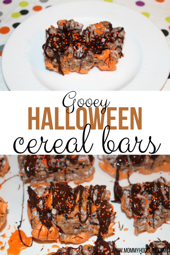 Halloween Cereal Bars Recipe